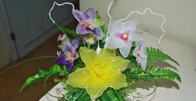 Mẫu hoa voan