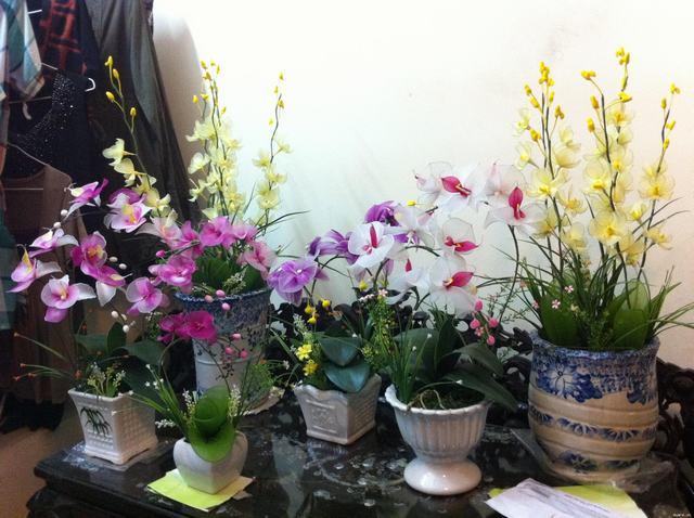 39 mẫu hoa voan đẹp dùng cho tết nguyên đán