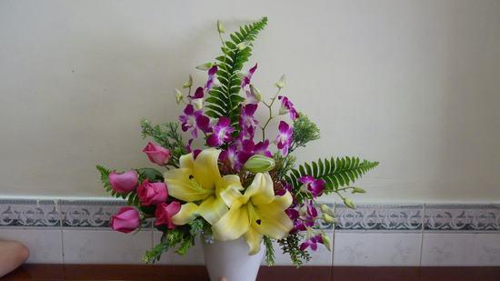 Kinh nghiệm Cắm hoa đẹp lại lâu tàn