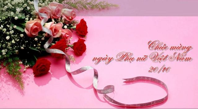 Chúc mừng ngày phụ nữ Việt nam