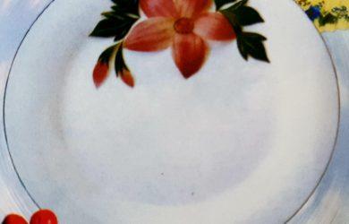 Trang trí vành đĩa